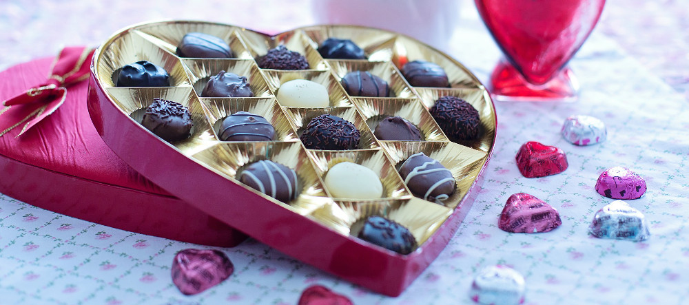 wholesale chocolates valentines day hearts